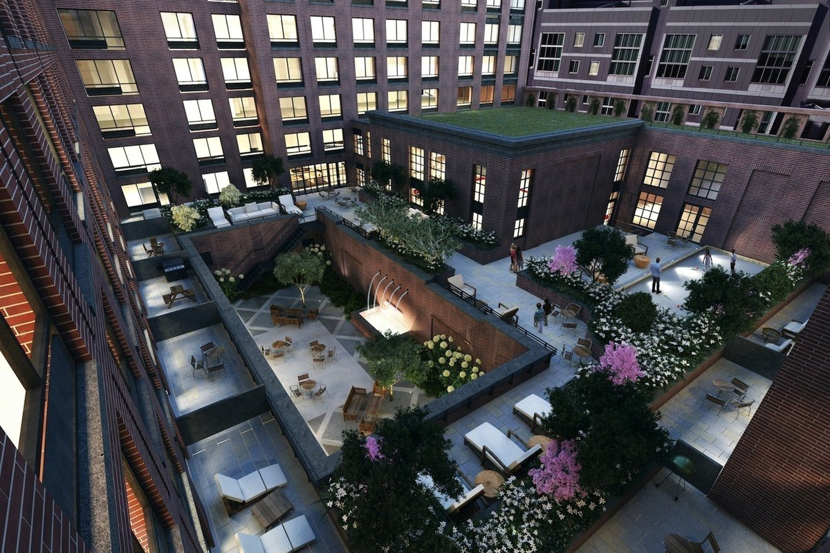 Nyc buildings with amazing outdoor spaces you never knew for 41 river terrace manhattan