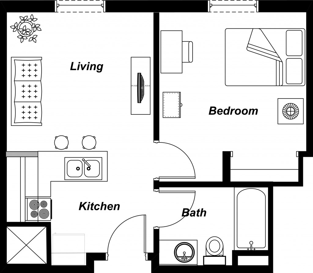 The Of A 1 Bedroom Apartment By Neighborhood In Nyc